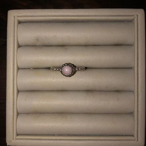 PANDORA October Birthstone Ring